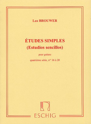 Leo Brouwer: Etudes Simples - 4th Serie