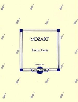 W.A Mozart: Twelve Duets K.487