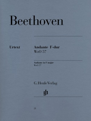 Beethoven, L v: Andante F major WoO 57