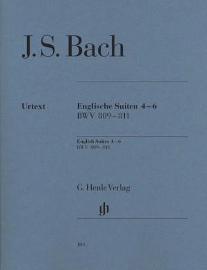 Bach, J S: English Suites 4-6 BWV 809-811
