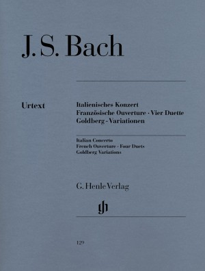Bach, J S: Italian Concerto, French Overture, Four Duets, Goldberg Variations