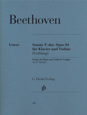 Beethoven, L v: Sonata for Piano and Violin F major (Spring) op. 24