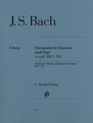 Bach, J S: Chromatic Fantasy and Fugue d minor BWV 903 und 903a