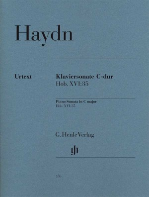 Haydn, J: Piano Sonata C major Hob. XVI:35 Product Image