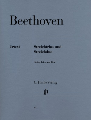 Beethoven, L v: String Trios and String Duo op. 3, 8 und 9 WoO 32