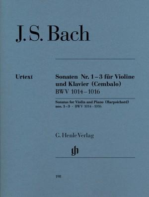 Bach, J S: Sonatas for Violin and Piano (Harpsichord) 1-3 BWV 1014-1016
