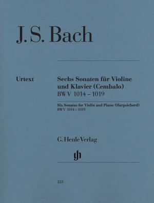 Bach, J S: Six Sonatas for Violin and Piano (Harpsichord) BWV 1014 - 1019