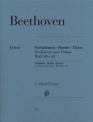 Beethoven, L v: Variations, Rondo, Dances for Piano and Violin