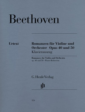 Beethoven, L v: Romances for Violin and Orchestra in G and F major op. 40 u. 50