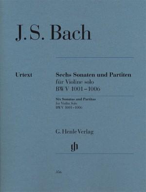 Bach, J S: Sonatas and Partitas for Violin solo BWV 1001-1006