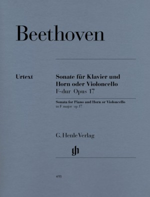 Beethoven, L v: Sonata F major for Piano and Horn (or Violoncello) op. 17