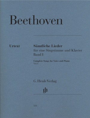 Beethoven, L v: Complete Songs for Voice and Piano Band I