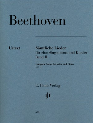 Beethoven, L v: Complete Songs for Voice and Piano Band II