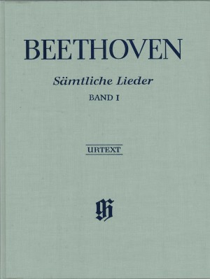 Beethoven, L v: Complete Songs for Voice and Piano Volume I