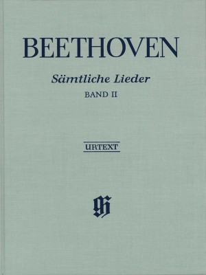 Beethoven, L v: Complete Songs for Voice and Piano Volume II