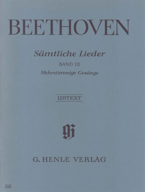 Beethoven, L v: Complete Songs for Voice and Piano Band III