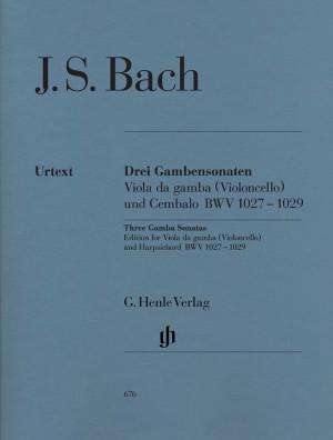 Bach, J S: Sonatas for Viola da Gamba and Harpsichord (Version for Viola da Gamba or Violoncello) BWV 1027-1029