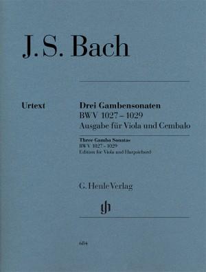 Bach, J S: Sonatas for Viola da Gamba and Harpsichord BWV 1027-1029
