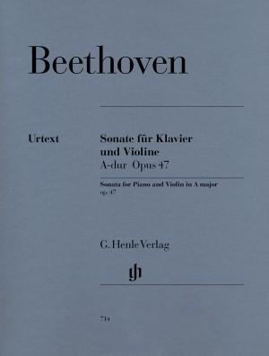 Beethoven, L v: Sonata for Piano and Violin A major (Kreutzer-Sonata) op. 47