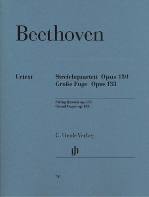 Beethoven, L v: String Quartet Op 130 Grosse Fugue Op 133
