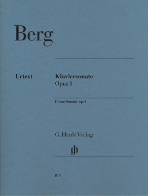 Berg, A: Piano Sonata op. 1