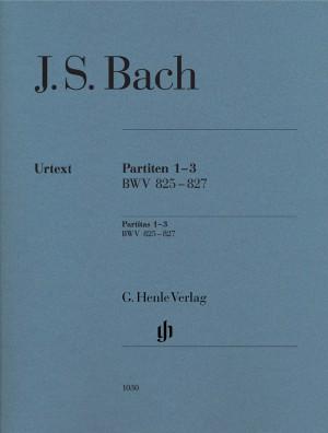 Bach, J S: Partitas 1-3 BWV 825-827