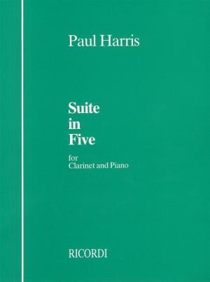 Paul Harris: Suite In Five Cl + Pf