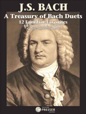 J.S. Bach: A Treasury Of Bach Duets - Flute/B Flat Clarinet