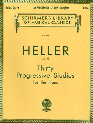 Stephen Heller: Thirty Progressive Studies Op.46 (Complete)