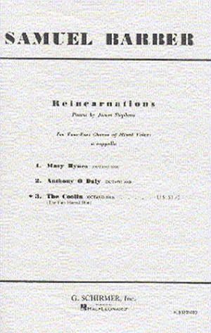 Samuel Barber: Reincarnations - The Coolin