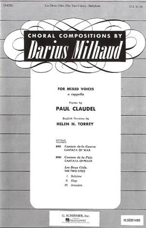 Darius Milhaud: Babylone (Les Deux Cites No.1)
