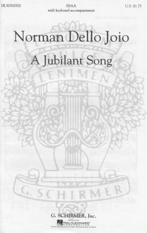 N Dello Joio: Jubilant Song, A