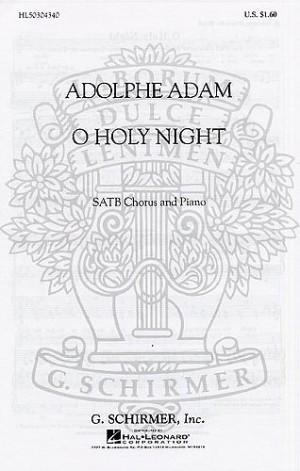 Adolphe Adam: O Holy Night (SATB)