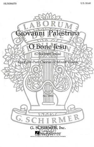 Giovanni Palestrina: O Bone Jesu