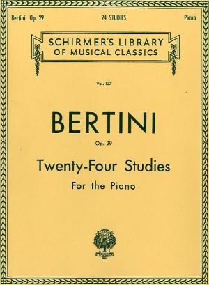 Henri Bertini: Twenty-Four Studies For Piano Op. 29