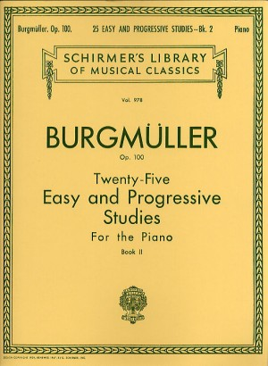 Friedrich Burgmuller: Twenty-Five Easy And Progressive Studies Op.100 Book 2