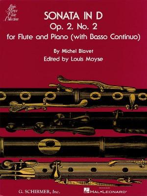 Michel Blavet: Sonata In D Minor For Flute And Piano