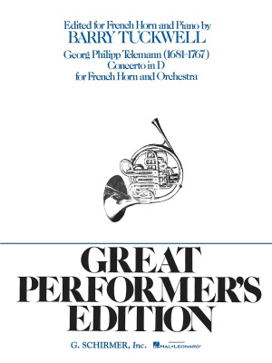G.P. Telemann: Concerto In D For French Horn And Orchestra (Horn/Piano)