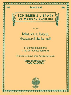 Maurice Ravel: Gaspard De La Nuit