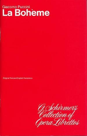 Giacomo Puccini: La Boheme (Libretto)