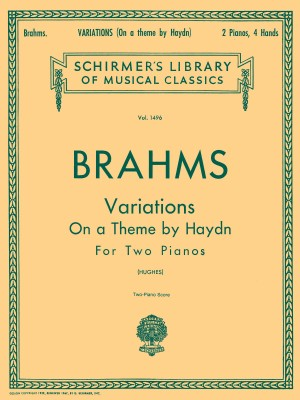 Johannes Brahms: Variations On A Theme By Haydn Op.56b (2 Piano Version)