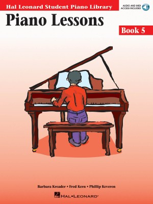 Barbara  Kreader: Piano Lessons Book 5 - Book with Online Audio