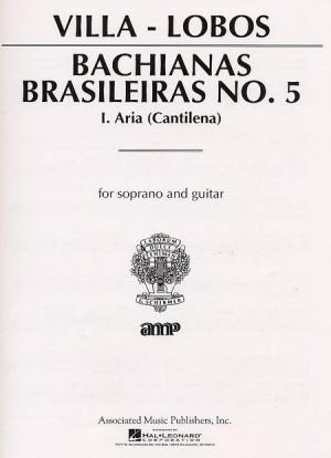 Heitor Villa-Lobos: Bachianas Brasileiras No. 5 - 1. Aria (Cantilana)