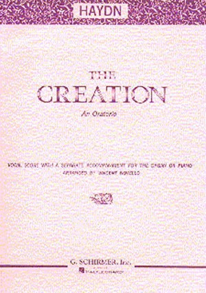 Joseph Haydn: The Creation (Vocal Score)- Schirmer Edition