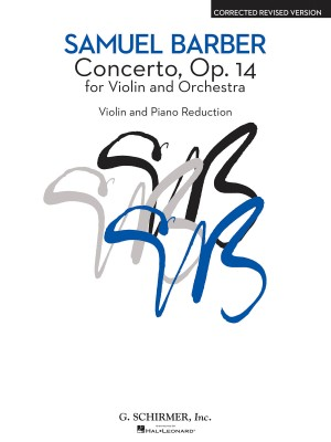 Samuel Barber: Concerto For Violin And Orchestra