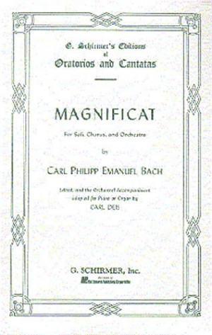 C.P.E. Bach: Magnificat (Vocal Score)