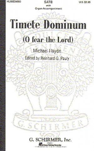 Michael Haydn: Timete Dominum