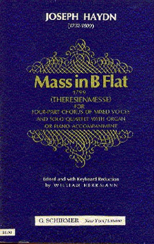 Joseph Haydn: Mass In B Flat (Theresienmesse)- Vocal Score