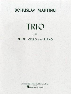 Bohuslav Martinu: Trio For Flute, Cello And Piano Product Image