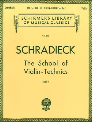 Henry Schradieck: School Of Violin Technics Book 1 (Dexterity)